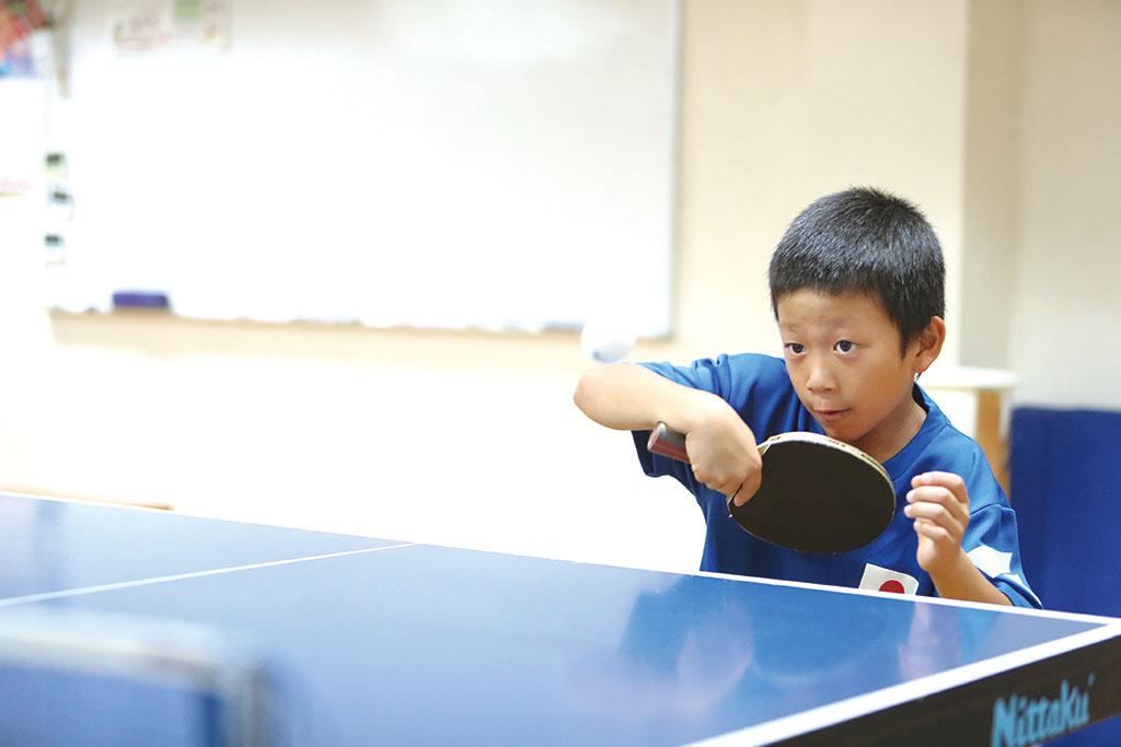 東広島スカイジュニア卓球クラブ 波多間 怜偉選手