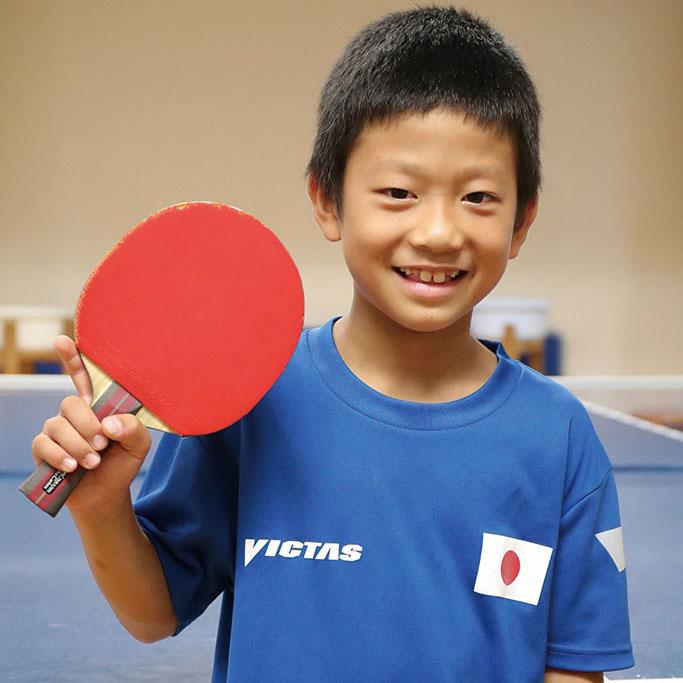 東広島スカイジュニア卓球クラブ 波多間怜偉選手