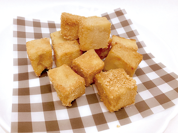 おやつ_高野豆腐のサイコロ