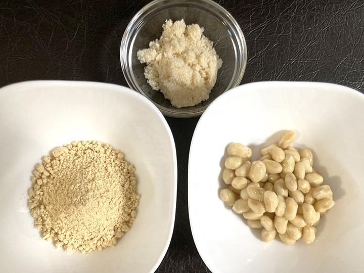 きな粉豆材料